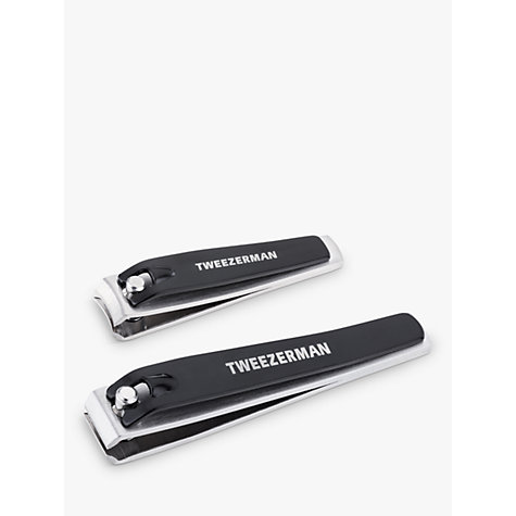 Buy Tweezerman Combo Nail Clippers Set, Black Online at johnlewis.com