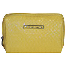 Buy Tender Love & Carry Chevron Chic Puff, Yellow Online at johnlewis.com