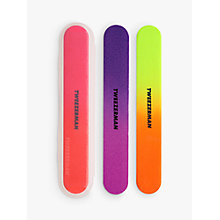 Buy Tweezerman Neon Hot Filemates, Pack of 3 Online at johnlewis.com