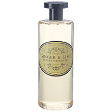 Buy Naturally European Ginger & Lime Luxury Shower Gel, 500ml Online at johnlewis.com