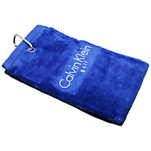 Buy Calvin Klein Golf Tri Fold Towel Online at johnlewis.com