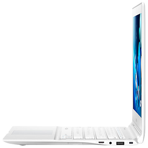 "Buy Samsung ATIV Book 9 Lite Laptop, Quad-core Processor, 4GB RAM, 128GB SSD, 13.3"" Touch Screen, White Online at johnlewis.com"