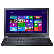 "Buy Samsung ATIV Book 9 Lite Laptop, Quad-core Processor, 4GB RAM, 128GB SSD, 13.3"", Black Online at johnlewis.com"