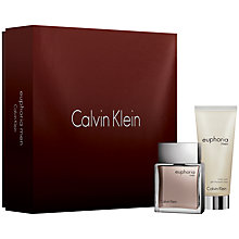 Buy Calvin Klein Euphoria for Men Eau de Toilette Fragrance Set, 50ml Online at johnlewis.com