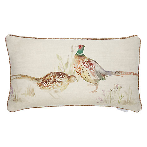 Buy Voyage Pheasant Couple Cushion Online at johnlewis.com