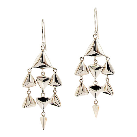 Buy Dinny Hall Paragon Kyte Mother of Pearl Chandelier Drop Earrings Online at johnlewis.com