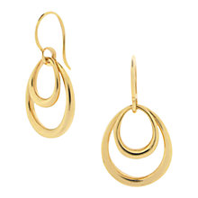 Buy Dinny Hall Toro Double Hoop Hook Earrings Online at johnlewis.com