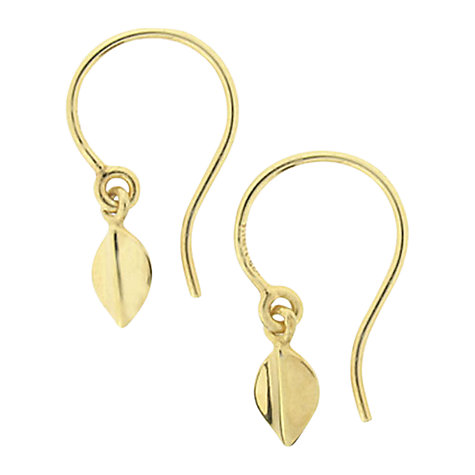 Buy Dinny Hall Small Lotus Hook Earrings Online at johnlewis.com