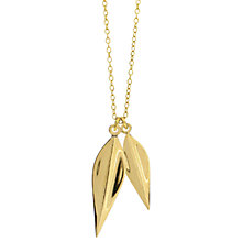 Buy Dinny Hall Elongated Double Lotus Pendant Online at johnlewis.com