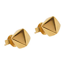 Buy Dinny Hall Almaz Stud Earrings, Gold Online at johnlewis.com