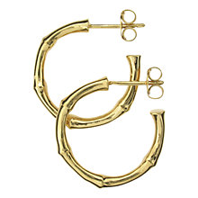 Buy Dinny Hall Small Bamboo Hoop Earrings Online at johnlewis.com