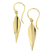 Buy Dinny Hall Elongated Lotus Drop Earrings Online at johnlewis.com