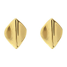 Buy Dinny Hall Tiny Lotus Petal Stud Earrings Online at johnlewis.com