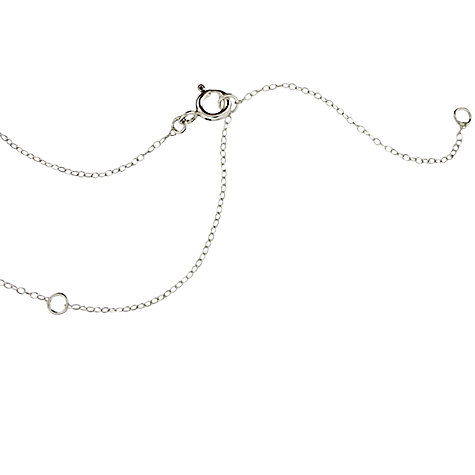 Buy Dinny Hall Almaz Elongated Lotus Triple Drop Necklace Online at johnlewis.com