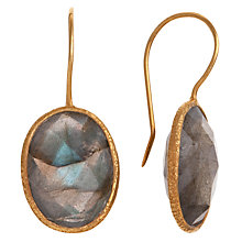 Buy Ottoman Hands Oval Wire Hook Drop Earrings Online at johnlewis.com
