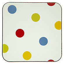 Buy John Lewis Bright Spot Coasters, Set of 6 Online at johnlewis.com