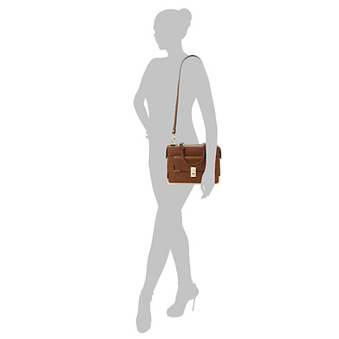 Buy Dune Digby Metal Frame Satchel Handbag Online at johnlewis.com