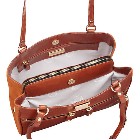 Buy Modalu Pippa Leather Shoulder Bag Online at johnlewis.com