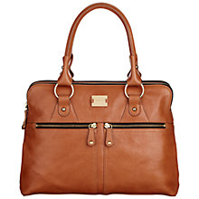 Buy Modalu Pippa Medium Grab Bag, Tan Online at johnlewis.com