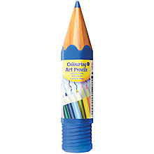 Buy Art Attack Coloured Pencils, Pack of 10 Online at johnlewis.com