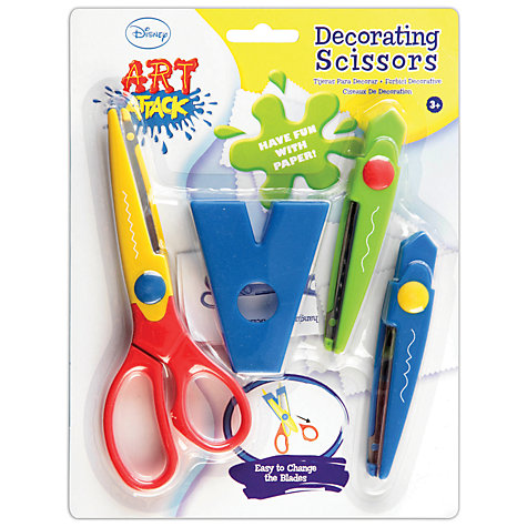 Buy Art Attack Decorating Scissors Online at johnlewis.com