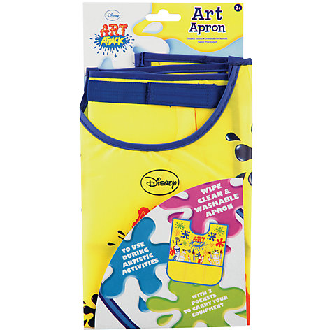 Buy Art Attack Art Apron Online at johnlewis.com