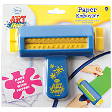 Buy Art Attack Paper Embosser Online at johnlewis.com