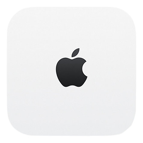 Buy Apple AirPort Time Capsule, Network Attached Storage Drive for Mac & Wi-Fi Base Station, 3TB Online at johnlewis.com