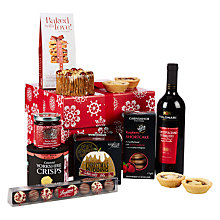 Buy John Lewis Snowflake Hamper Box Online at johnlewis.com