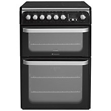 Buy Hotpoint HUE62 Electric Cooker Online at johnlewis.com