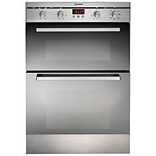 Buy Indesit FIMDE23IXS Double Electric Oven, Stainless Steel Online at johnlewis.com