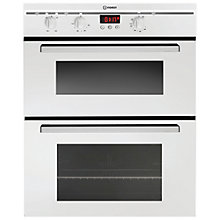 Buy Indesit FIMU23WH Double Electric Oven, White Online at johnlewis.com
