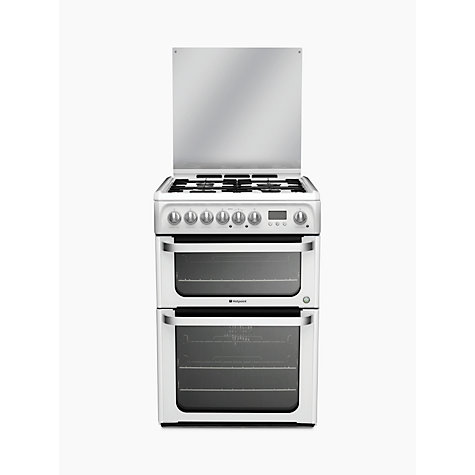 Buy Hotpoint HUD61 Dual Fuel Cooker Online at johnlewis.com