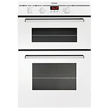 Buy Indesit FIMD23WHS Double Electric Oven, White Online at johnlewis.com