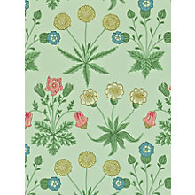 Buy Morris & Co Bird Daisy Wallpaper Online at johnlewis.com