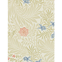Buy Morris & Co Bird Larkspur Wallpaper Online at johnlewis.com