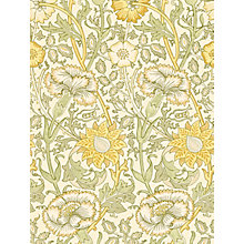 Buy Morris & Co Pink and Rose Wallpaper Online at johnlewis.com