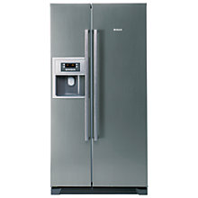 Buy Bosch KAN58A45G American Style Fridge Freezer, Stainless Steel Look Online at johnlewis.com