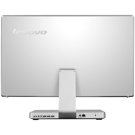 "Buy Lenovo IdeaCentre A730 All-in-One Desktop PC, Intel Core i7, 6GB RAM, 1TB+8GB SSD, Blu-ray, 27"" QHD Touch Screen Online at johnlewis.com"