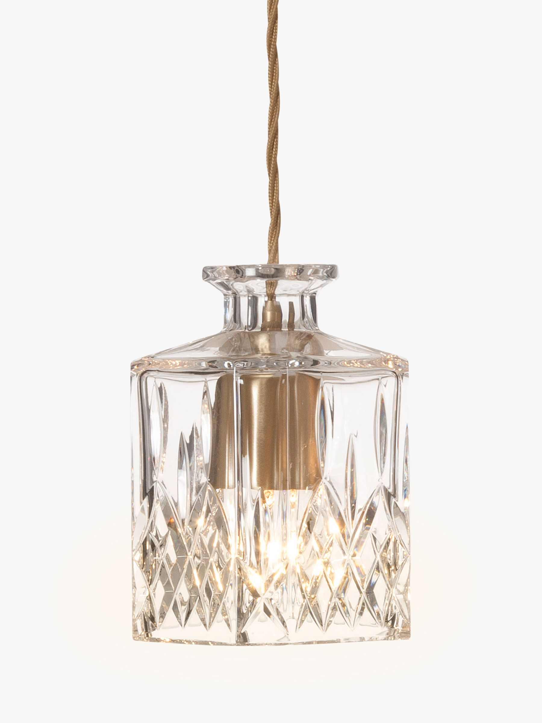 Lee Broom Lee Broom Square Decanter Pendant