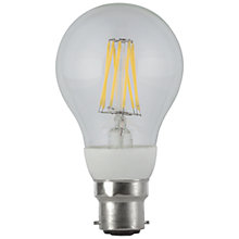 Buy Calex 6.5w BC Energy Saving LED Filament Classic Bulb, Clear Online at johnlewis.com