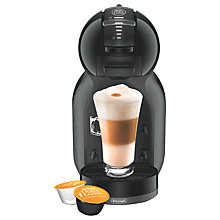 Buy NESCAFÉ® Dolce Gusto® Mini Me Automatic Play & Select by De'Longhi, Piano Black Online at johnlewis.com