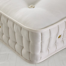Buy John Lewis Natural Collection Fleece Wool 6000 Zip Link Mattress, Super Kingsize Online at johnlewis.com