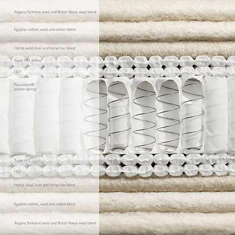 Buy John Lewis Natural Collection Angora 10000 Mattress, Kingsize Online at johnlewis.com