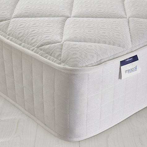 Buy Silentnight Miracoil Memory Mattress, King Size Online at johnlewis.com