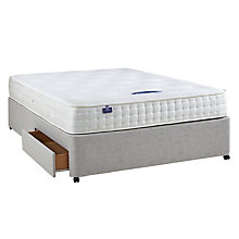 Buy Silentnight Non Sprung 2 Drawer Divan Storage Bed, King Size Online at johnlewis.com
