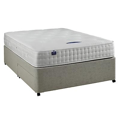 Silentnight sprung edge divan base kingsize for Sprung base divan bed with storage