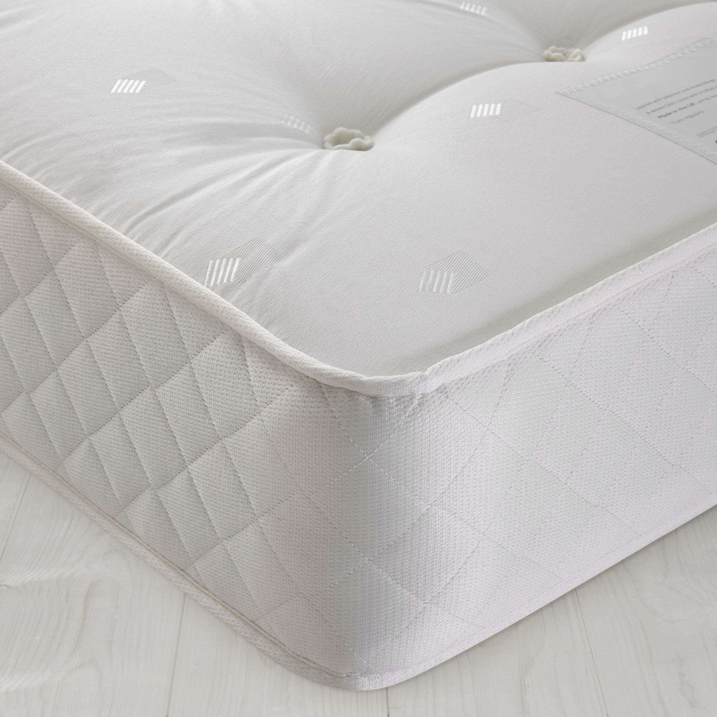 John Lewis Open 325 Comfort Mattress, Single