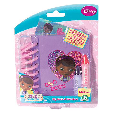 Buy Doc McStuffins Book of Boo Boos Online at johnlewis.com
