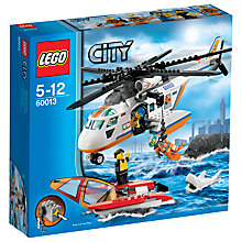 Buy LEGO City Coast Guard Helicopter Online at johnlewis.com